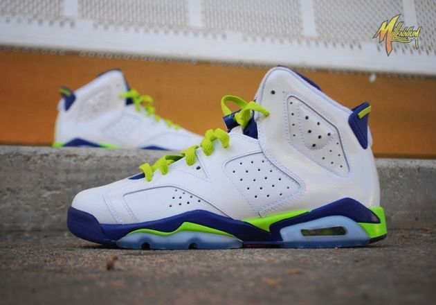 Trendy Womens Sneakers 2017/ 2018 : Air Jordan VI  Seahawks (Październik 2014)  Data premiery