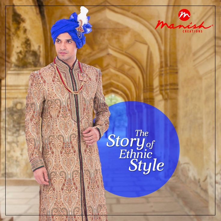 Weave a new tale of fashion with our style mantra. Amaze the world in fine ethnic wear from our collection that are here to surprise.  #ManishCreations #EthnicStyle #MensFashion #IndianWear