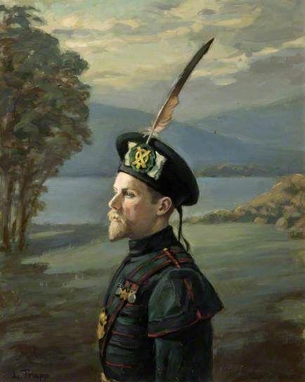 David William Milne Home, Royal Company of Archers by Ludmilla Trapp