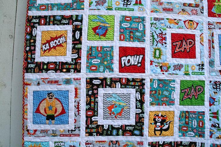 Superhero Baby Quilt Superhero Quilt Boy Quilts Quilts