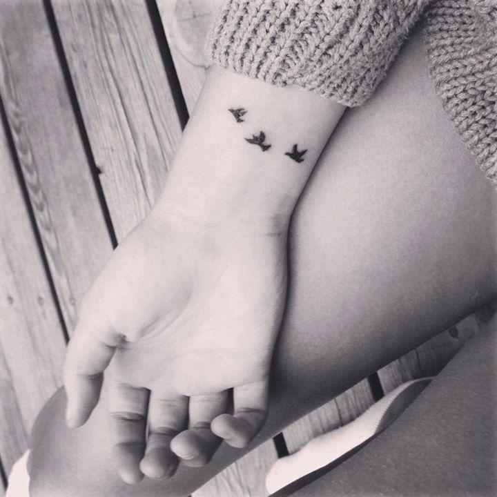 Another tiny tattoo