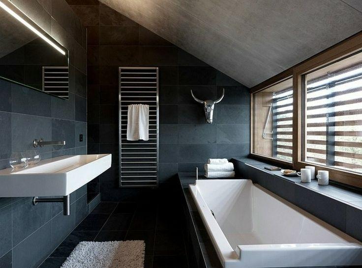 azulejos de baño color añíl