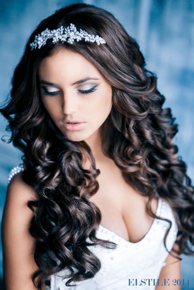 wavy hair styles for women 74 best quinceanera stuff images on hair dos 8715 | 3affe8715cbef3f4132c7dab4c1d4530