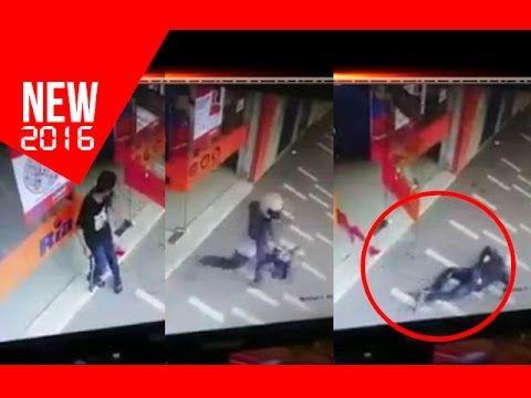 Security camera Video cctv perampok minimarket Kena tembak