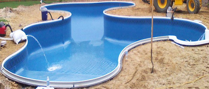 17 best images about swimming pool kits construction on for Garden swimming pool kits