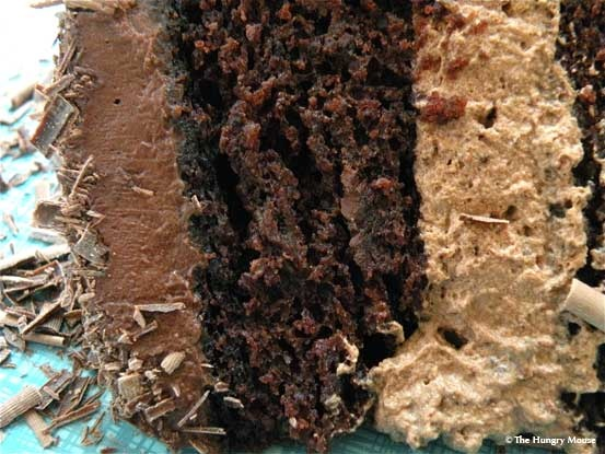Mocha Layer Cake with Sour Cream Ganache | Recipes to try | Pinterest