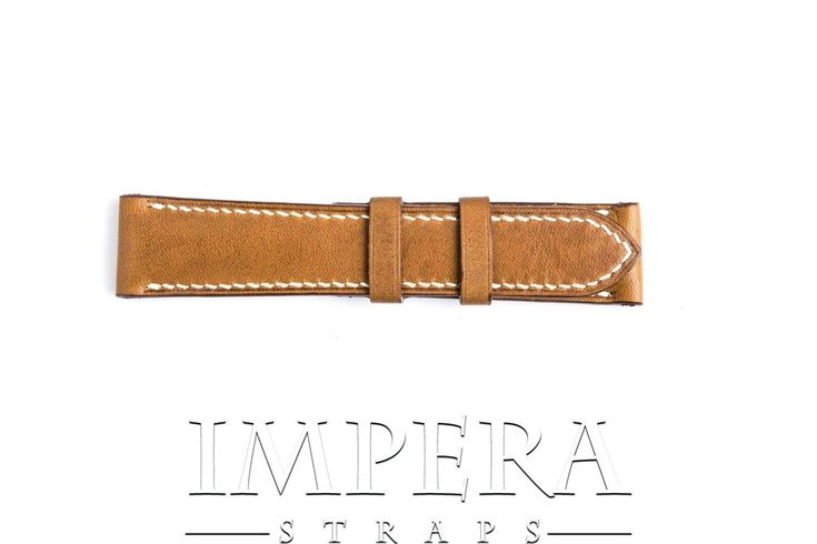 Vegetable Tanned Tobacco Brown Genuine Leather Watch Strap,https://www.imperastraps.com