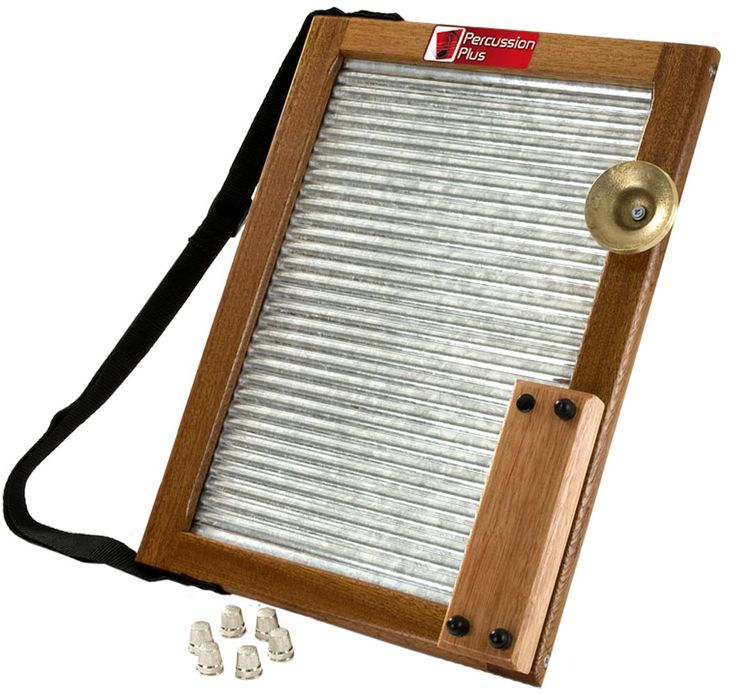 how to make a musical washboard