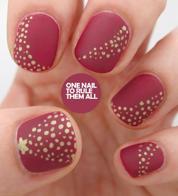 The 25+ best Simple christmas nails ideas on Pinterest | Xmas nails, Christmas  nails and Easy christmas nails - The 25+ Best Simple Christmas Nails Ideas On Pinterest Xmas