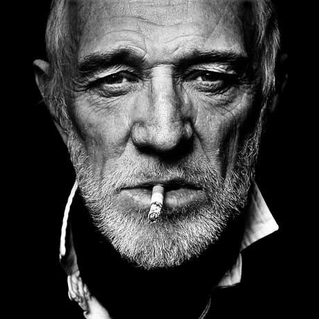 Richard Harris photographed by Annie Leibovitz