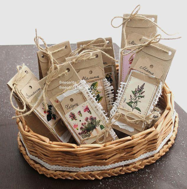Чайные подарки :)