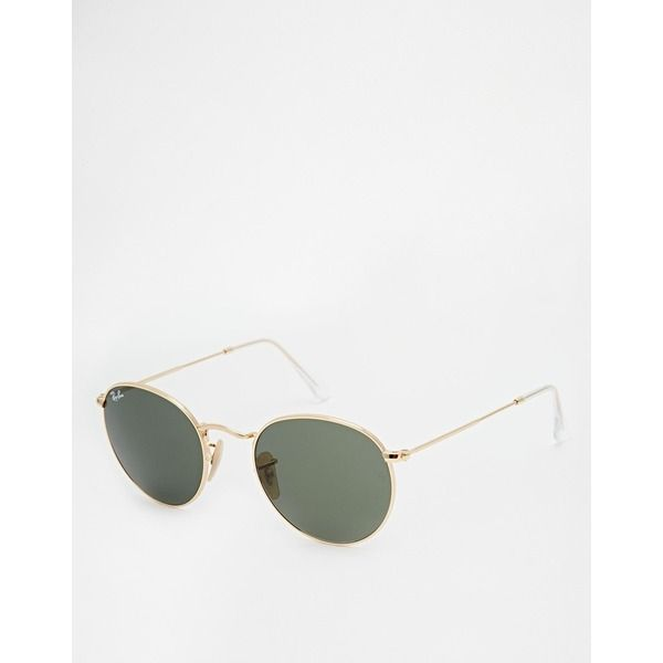 Ray-Ban - Runde Sonnenbrille, Gold