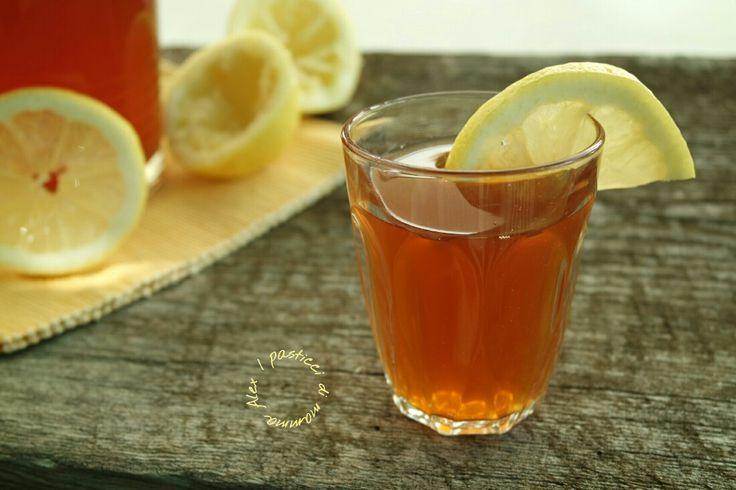 TÈ FREDDO al limone   ricetta perfetta