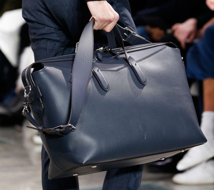 louis vuitton bags for men. louis vuitton debuts new monogram eclipse print at men\u0027s fall 2016 show bags for men