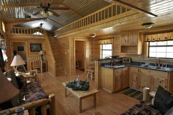 Cumberland Log Cabin Kit from 16350 odds ends Pinterest