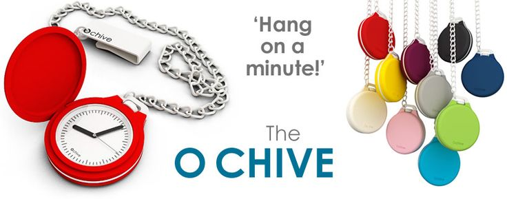 The O chive pocket watch