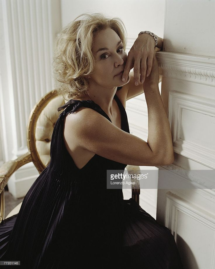 Actress Jessica Lange poses for a portrait shoot for Observer magazine London on January 15, 2007.