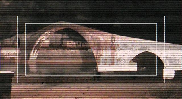 Is there a Ghost caught on tape near the devil's bridge in Borgo a Mozzano? #lucca #video #pontedeldiavolo