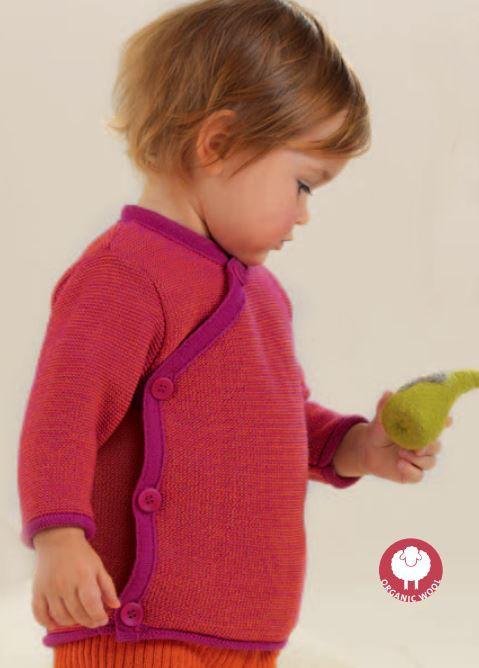 Disana Melange Jacket - Disana Canada - Merino Wool Clothing for Kids - Ava's Appletree
