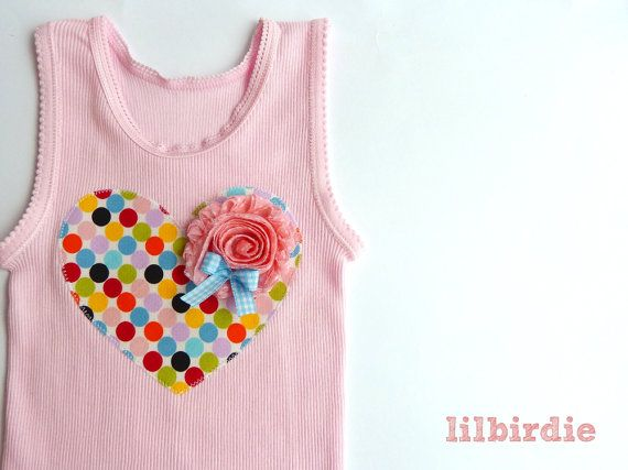 46 best singlet ideas images on pinterest sewing ideas baby items similar to pretty polka dot heart baby singlet baby tank sizes 000 2 on etsy negle Images