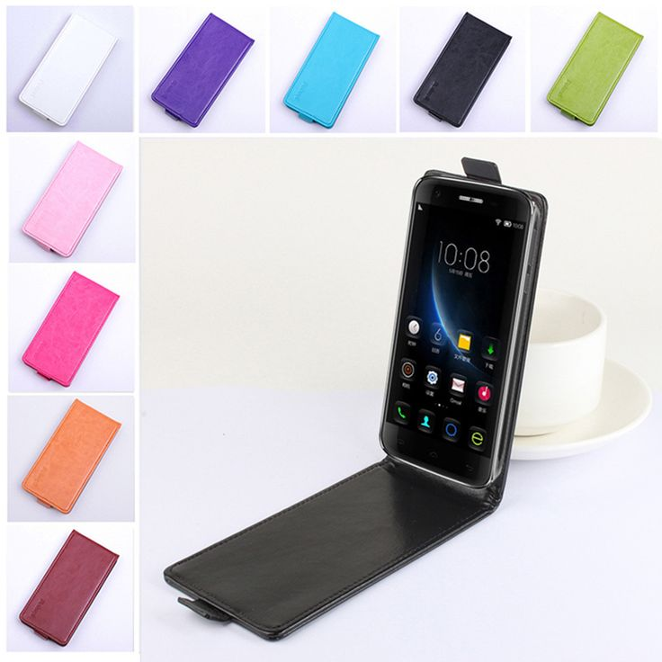 Slim Magnetic Flip Synthetic Leather Protective Case Cover For Doogee F3 F3 Pro