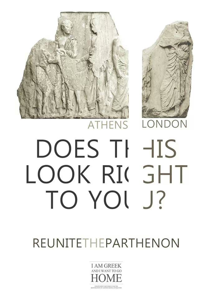 Reunite The Parthenon