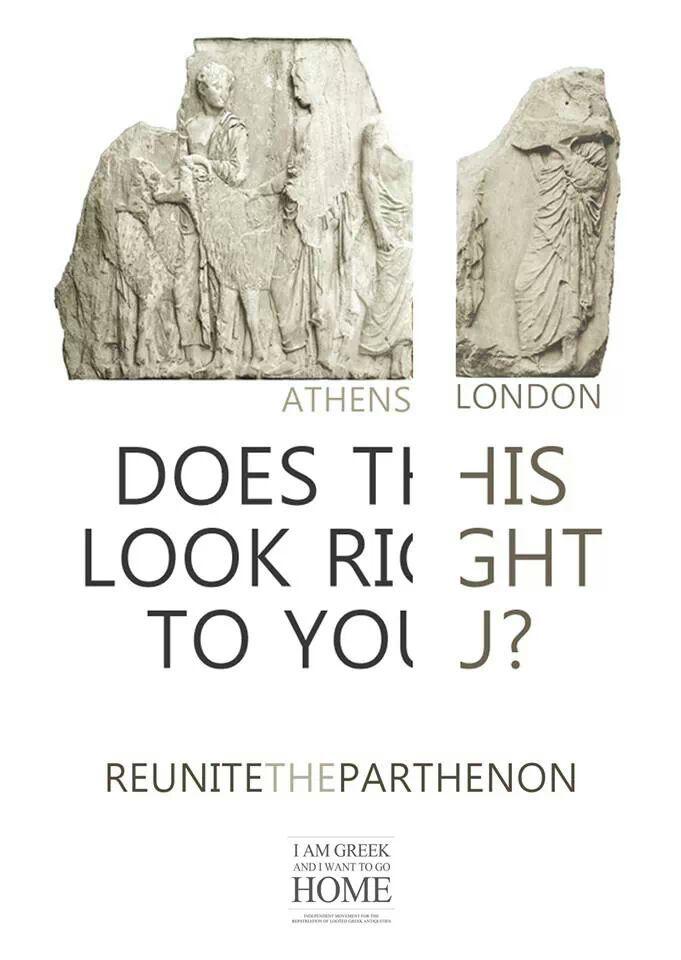 Reunite The Parthenon