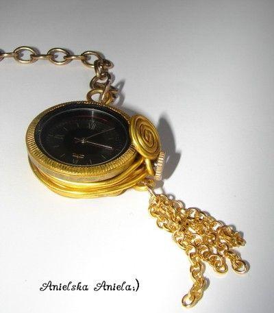 diy pocket watch...Nie tylko kieszonkowy zegarek..