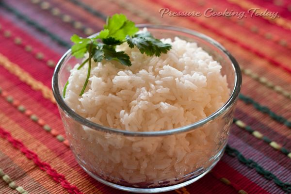 3-Minute Pressure Cooker White Rice