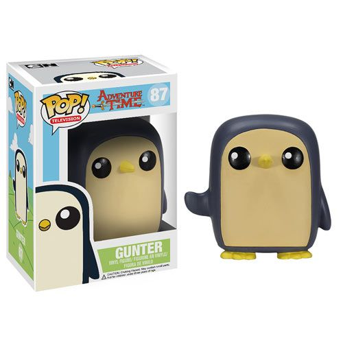 Adventure Time Gunter Penguin Pop! Vinyl Figure - Funko - Adventure Time - Vinyl Figures at Entertainment Earth