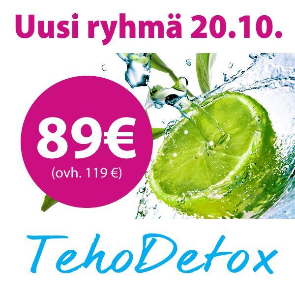Uniq LW Tehodetox - 14 päivän puhdistuskuuri starttaa 20.10.14   paleokeittio.fi