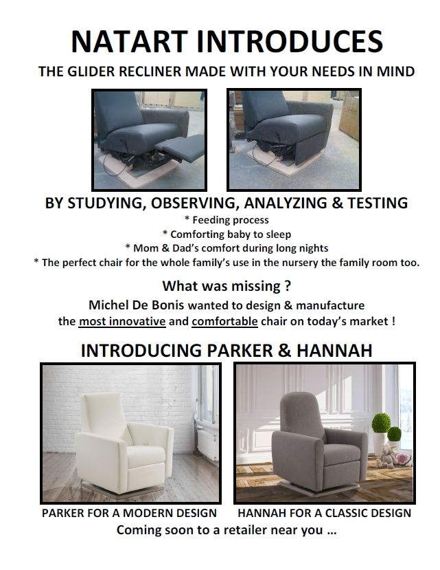 New Glider Recliners   Parker And Hannah   The Most Comfortable, Most Innovative  Design Available