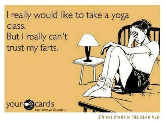 Yoga meme - My boyfriend's excuse for not trying yoga