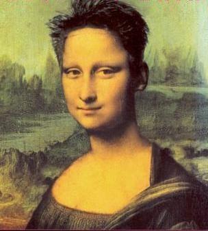 butch Mona..funny she looks a little like K.D. Lang...