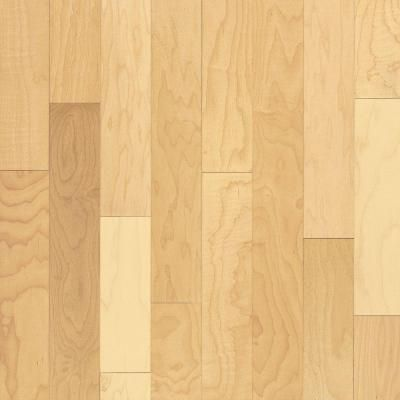 Bruce Natural Maple 3/4 in. Thick x 2-1/4 in. Wide x Random Length Solid Hardwood Flooring (20 sq. ft./case)-AHS4010 at The Home Depot $3.39