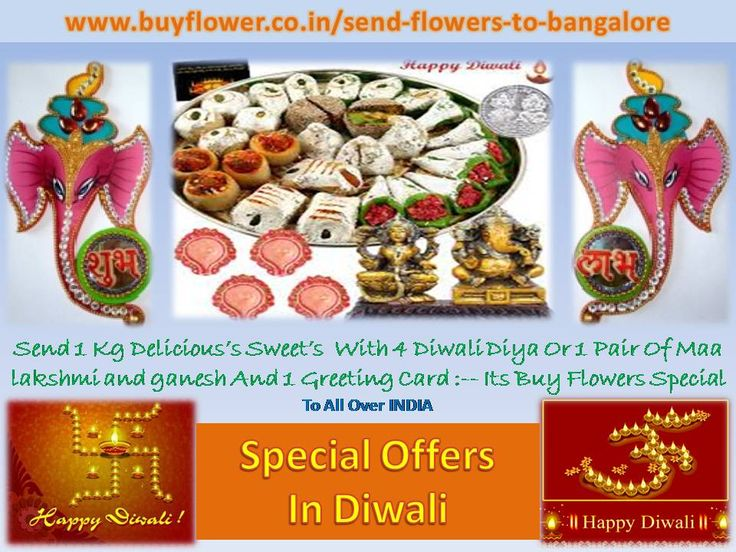 In This HAPPY dEEPAWALI Everybody Can Send Flowers, Sweets, Dry Fruits, Toys And So Many Products to Your family And Your Friends By This Website >>