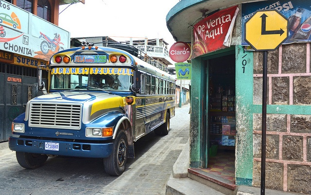 Photo of the Day: February 23, 2012 - Wrong way! San Pedro la Laguna, Guatemala.