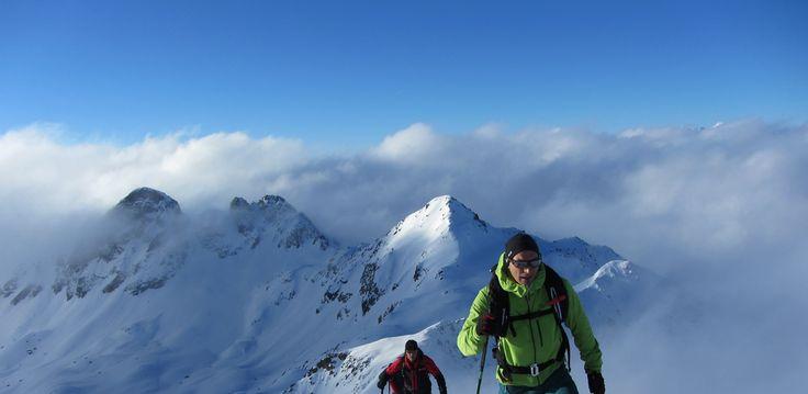 Skitourenwoche - DREILÄNDERskiRO #tiroleroberland
