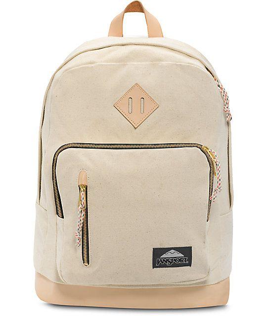 JanSport Axiom Destination Natural Canvas 31L Backpack