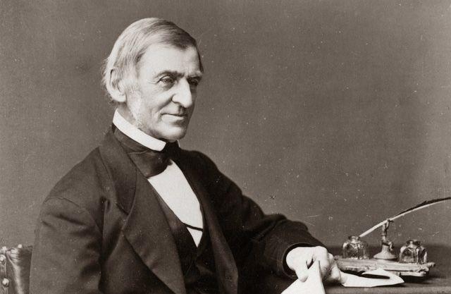Parole Massime, Ralph Waldo Emerson. Citazione, vivere nel mondo.