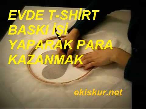 evde t-shirt baskı işi yaparak para kazanma yolları,tişört baskılama işi nasıl yapılır, tişört baskılama işi ile para kazanmak, evde iş fikirleri