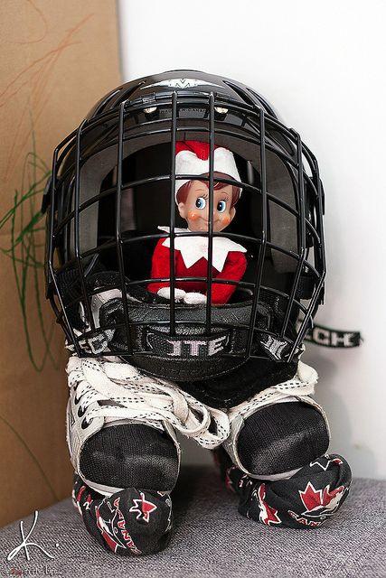 Use brothers hockey equipment.