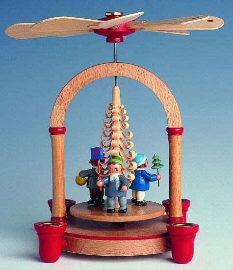 1-tier Pyramid - children - 21 cm / 8 inch $91.00 plus shipping