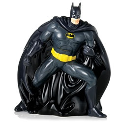 @Brittany Horton Horton Guzzi...Batman Cookie jar as a decoration/treat jar at the party??