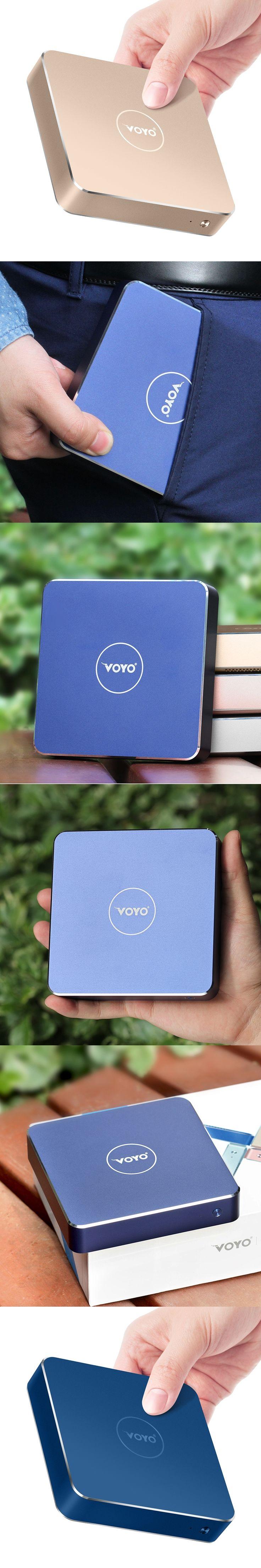 New VOYO VMac mini pcs V1 Intel Apollo N3450 License Windows 10 Pocket PC4GB DDR3L RAM+64GB SSD mini pc desktop computer office