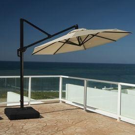 Best Offset Patio Umbrella Ideas On Pinterest Patio - Coolaroo 10 foot round cantilever freestanding patio umbrella mocha