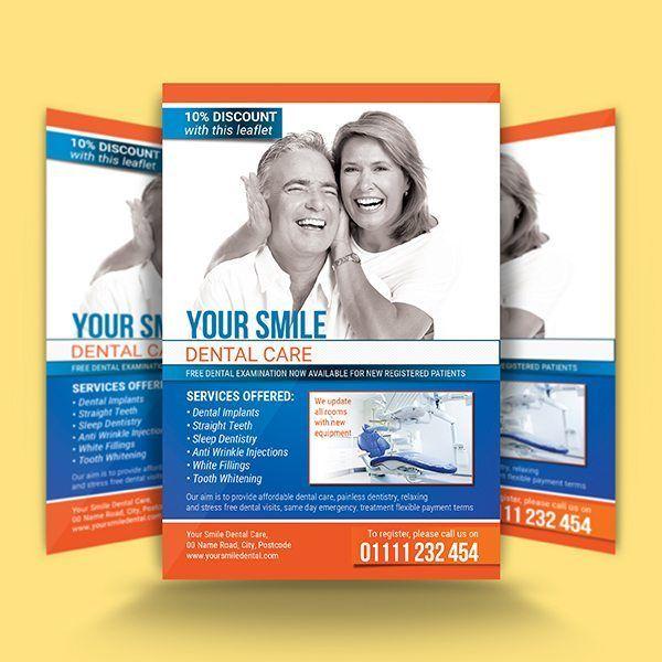 Dental Care Flyer Template