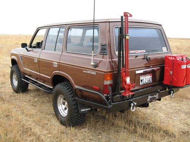 fj60 - I really like the rear bumper set up