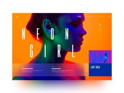 Neon slider #1
