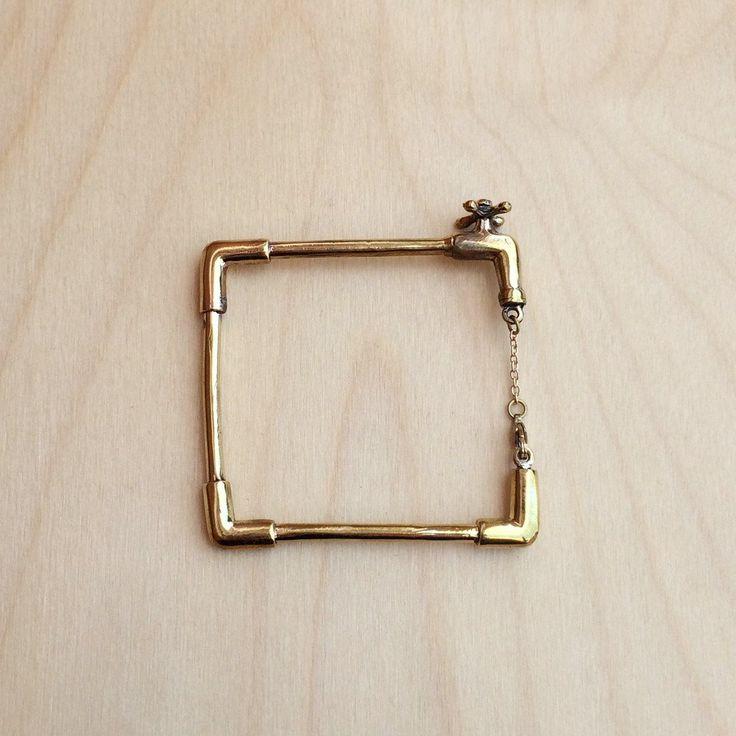 Faucet Brass Bracelet